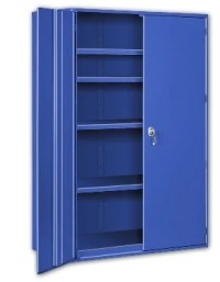 Big Blue Extra Heavy Duty Storage Cabinets