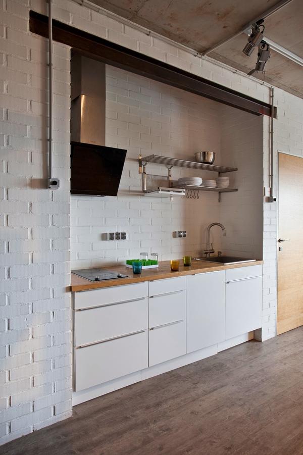 Mini apartamento de estilo industrial  Ana Pla  interiorismo y decoracin