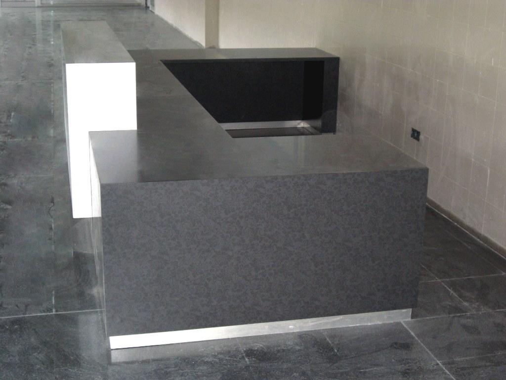 Mostrador aplacados en formica  AP Muebles de Laboratorio