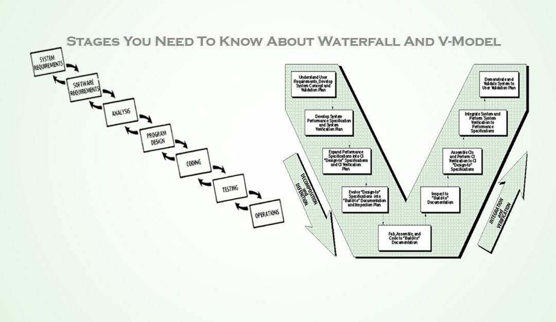 6 Stages You Need To Know About Waterfall And V-Model
