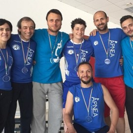 Apnea Team Abruzzo domina a Bari: 7 medaglie per 7 atleti