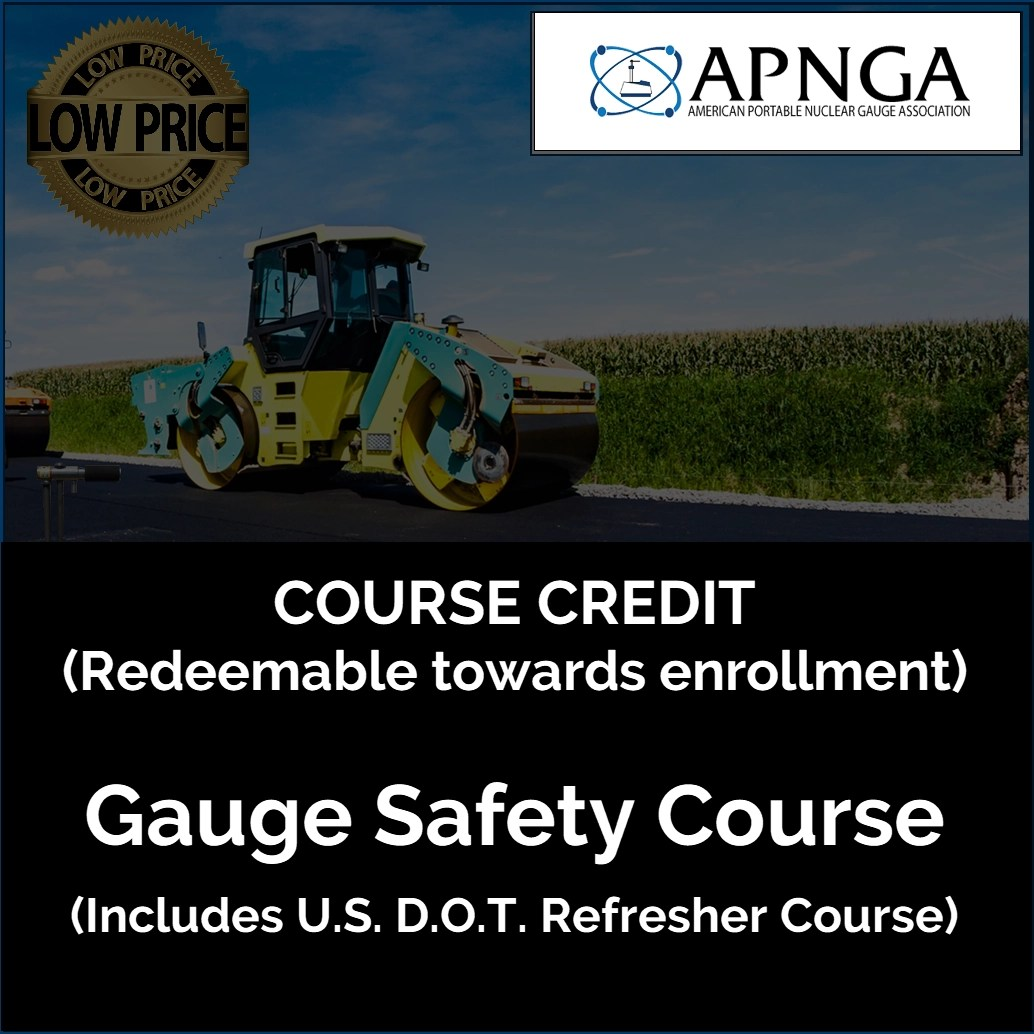 Product Image- Gauge Safety Course CREDIT
