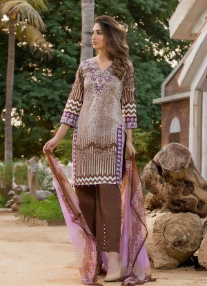Sahil Designer Embroidered Lawn Collection Vol 1 2018 08B