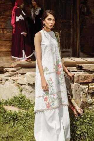 Zara Shahjahan Luxury Lawn Collection Vol 2 2018 03