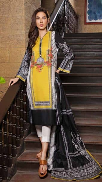 Gul Ahmed Malmal Volume 2 Collection 2019 CL-496A