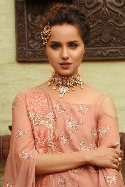 Majestic Luxury Chiffon Collection by Embroyal 2019 – 02 Magnificent Blush