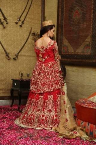 Majestic Luxury Chiffon Collection by Embroyal 2019 – 10 Scarlet Queen