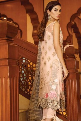 Serene Premium Embroidered Chiffon Festive Collection 2019 10 Socialite's Fantasy