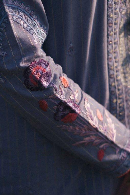 Zara Shahjahan Luxury Embroidered Lawn Unstitched 3 Piece Suit ZSL20 MEHNAZ-B – Summer Collection