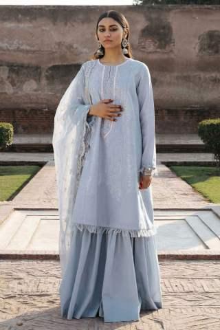 Zara Shahjahan Luxury Embroidered Lawn Unstitched 3 Piece Suit ZSL20 MUMTAZ-A – Summer Collection