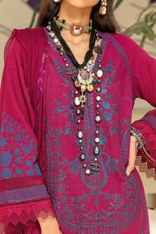 Muzlin by Sana Safinaz Wool Unstitched 3 Piece Suit MWSS20 15B – Winter Collection