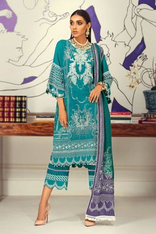 Muzlin by Sana Safinaz Wool Unstitched 3 Piece Suit MWSS20 16B - Winter Collection