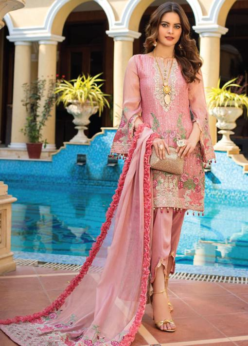 Al Zohaib Embroidered Masoori Unstitched 3 Piece Suit 2021 D 04 – Wedding Collection