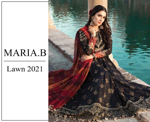 Maria B Luxury Lawn 2021 Collection