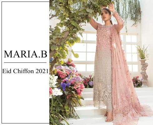 Maria B Mbroidered Eid Collection 2021