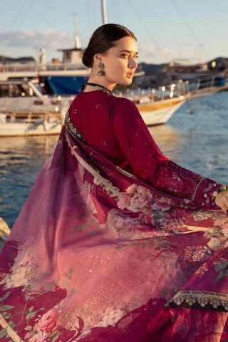 Selene By Republic WomensWear Embroidered Luxury Lawn Unstitched 3 Piece Suit 11A Celal – Summer Collection