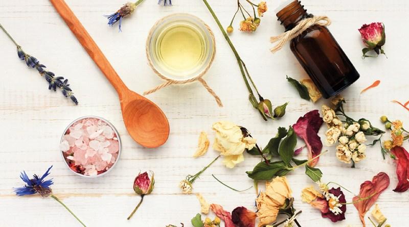 Aromatherapie - verschiedene Aromen
