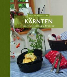 Buchcover. Rezepte aus Kärnten