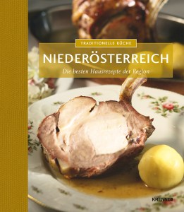 Buch Cover: Traditionell Küche Niederösterreich. Rezepte aus Niederösterreich