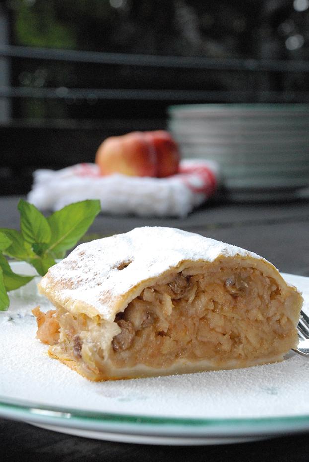 Apfelstrudel. Rezepte aus Wien