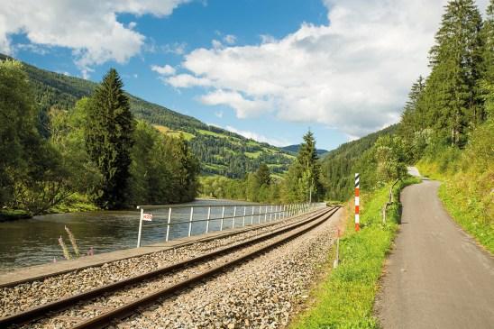 Murtalbahnstrecke. Murradweg