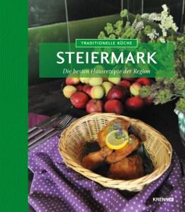 Cover des Kochbuches. Rezepte aus der Steiermark