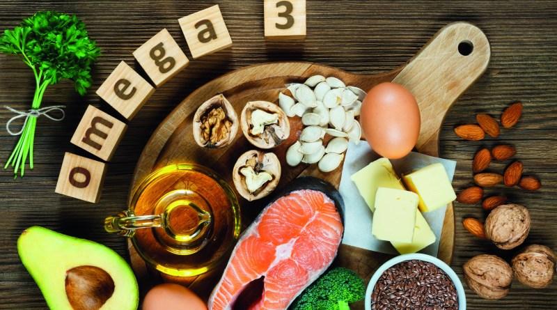 Fisch, Avocado, Hülsenfrüchte, Eier, Omega 3. Omega-3-reichhaltige Nahrungsmittel