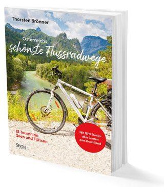 Österreichs schönste Flussradwege - 15 Touren an Seen und Flüssen Cover auch weißem Hintergrund. Buch. Büchertipps