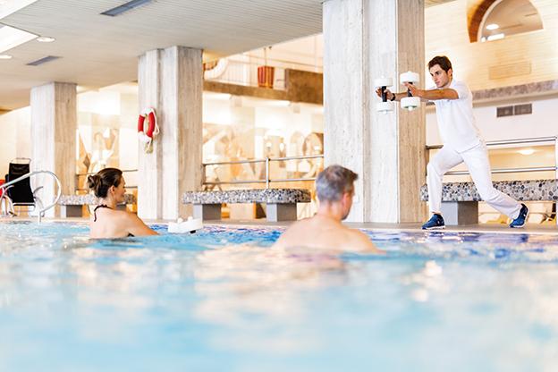 Aquagymnastik, Aqua Aerobic im Thermenhotel Karawankenhof