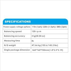 APO-7018 Self-Calibrating Wheel Balancer