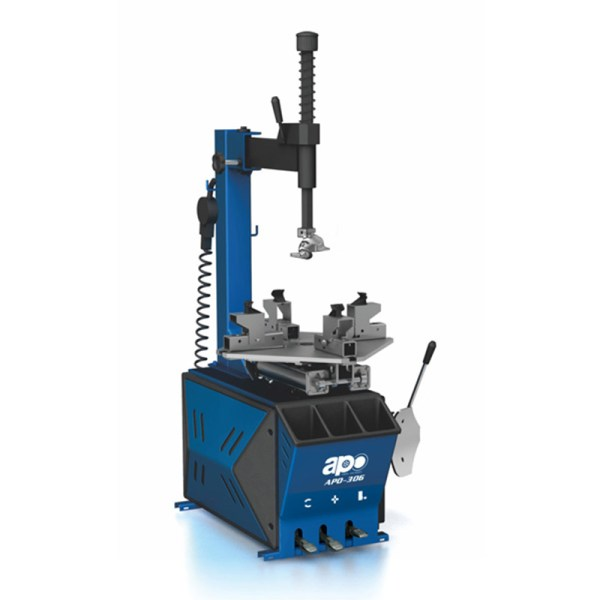 APO-306 Semi-Automatic Swing Arm Tire Changer