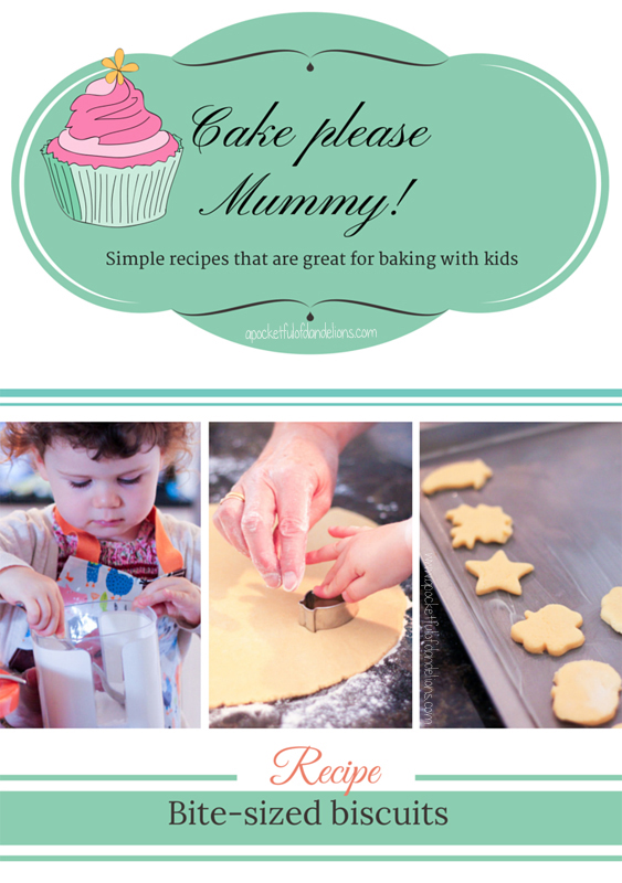 A recipe for basic biscuit dough. Ideal for baking with toddlers.