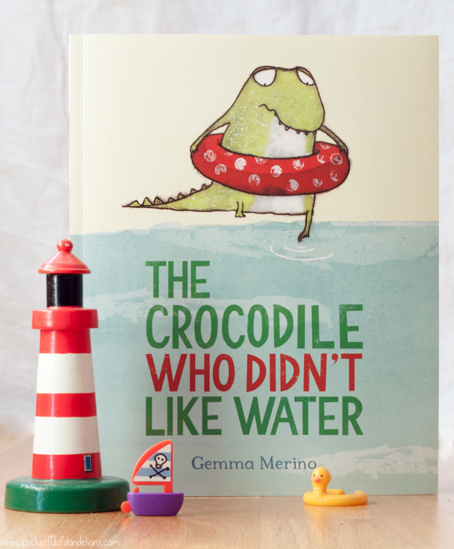 What We're Reading ~ The Crocodile Who Didn't Like Water