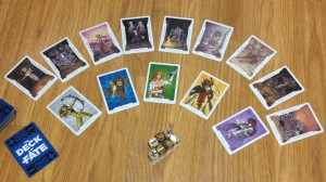 This shows some of the Arcana and approaches available from the Deck of Fate.