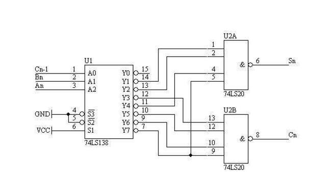 74LS138 Application Circuit