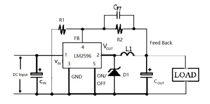 Lm2596 Buck Converter Circuit Diagram / Reliability of