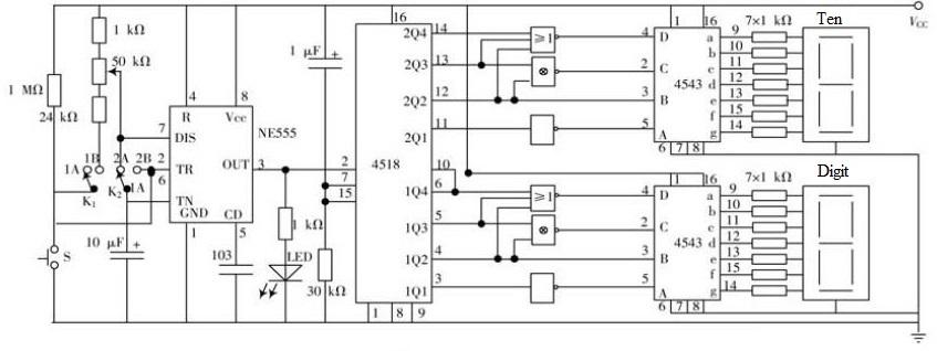74LS00 Nand Gate: 4 Simple Circuit Analysis