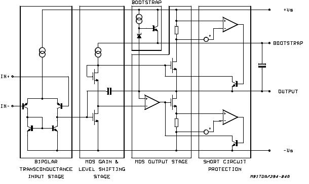 TDA7294: 100W Audio Amplifier IC