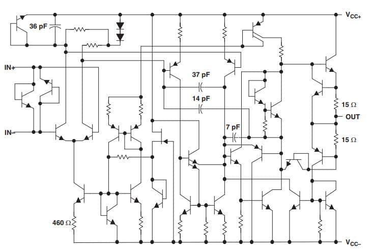 LM1875 Audio Power Amplifier Cricuit
