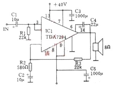 TDA7294 Based Power Amplifier Circuit Design