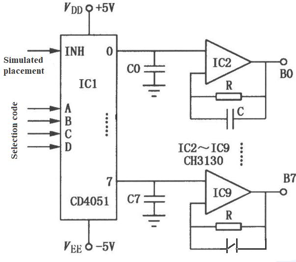 CD4051 Analog Multiplexer: Pinout, Feature, Datasheet