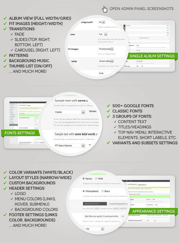 Hypershot - Photography Portfolio WordPress Theme - 10