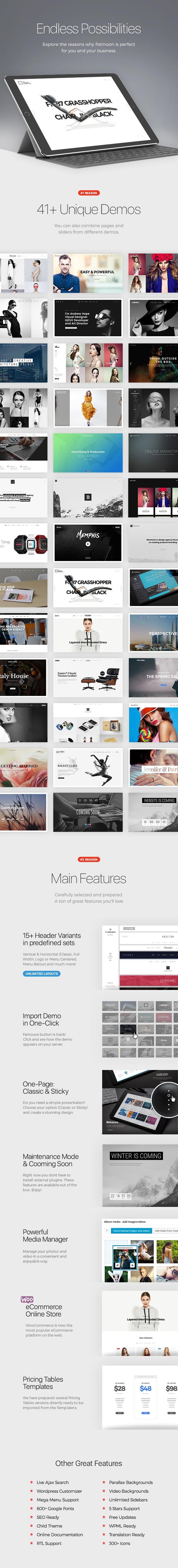 FatMoon | Creative & Photography Multi-Purpose Theme - 2