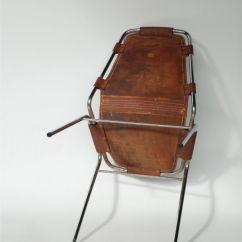 Buffalo Leather Chair And A Half Sleeper Ikea Charlotte Perriand Chrome Chair, Les Arcs : Seating Apollo Antiques