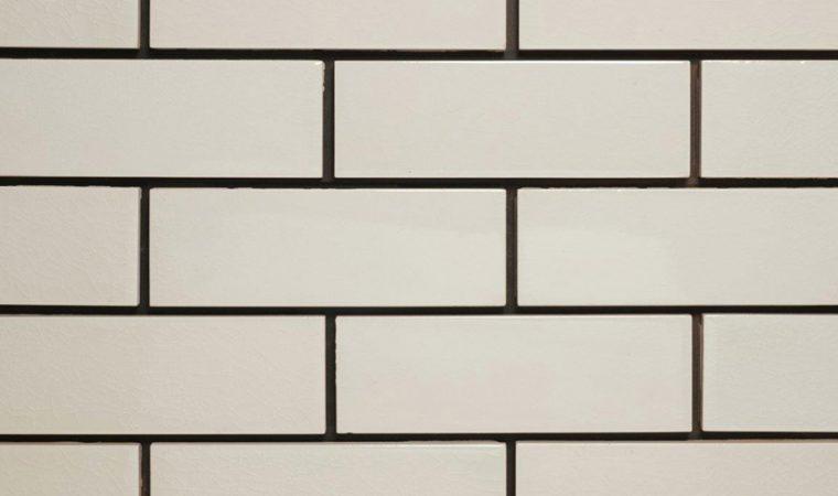 victorian white crackle glazed brick tile