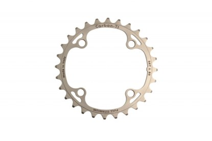 Carbon Ti Full Titanium 33t Hollowgram Wide/Narrow Chainring