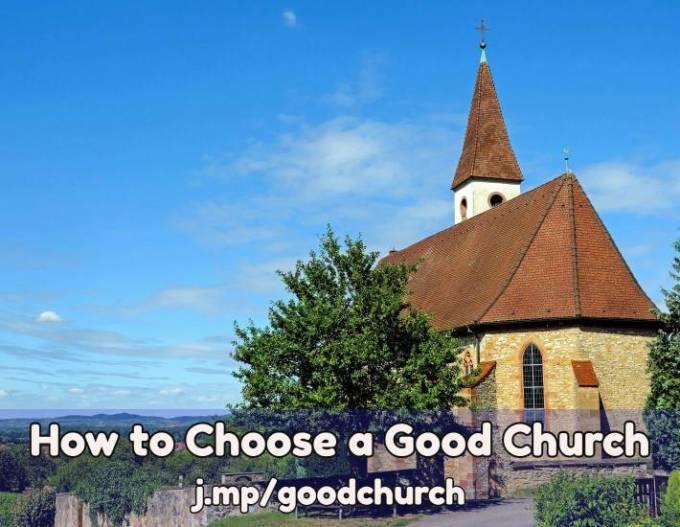 Find a good church