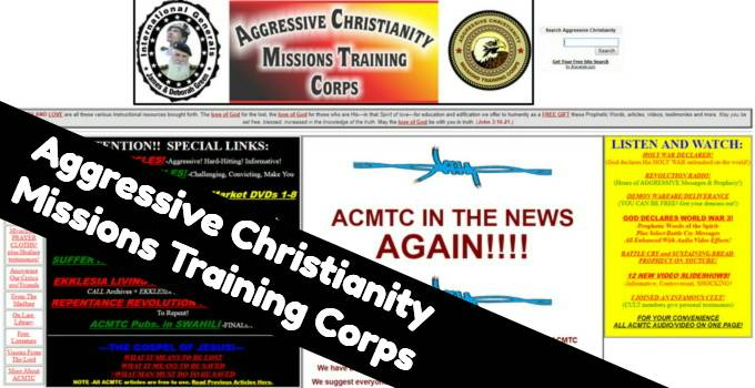 Aggressive Christianity Missions Training Corps Apologetics Index