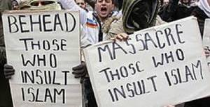 Muslims promoting terrorism