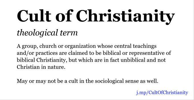 christian cult